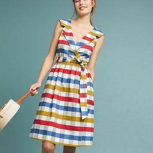 Gingham Tie-Waist Dress (NWT)